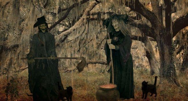 Vještice - žene koje se bave vještičarenjem za nadnaravnu moć