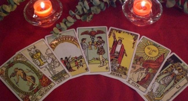 Šestica pehara - tarot karte