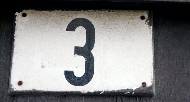 Numerologija - broj 3