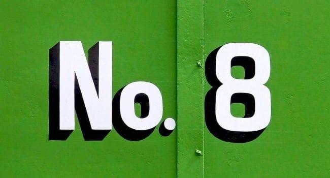 Numerologija – broj 8